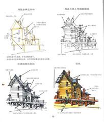 用线条确定外形的建筑