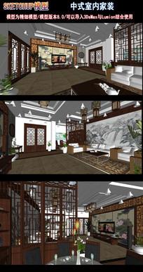 中式室内家装
