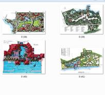 住宅景观手绘平面图