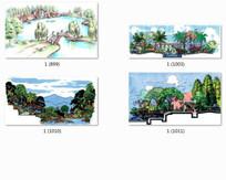 住宅水景景观设计效果图