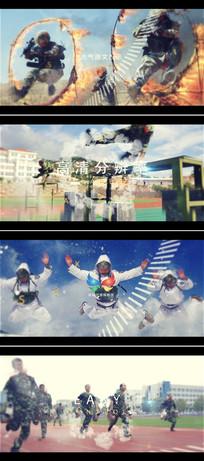 ae震撼大气军队武警宣传片头模板
