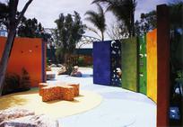 彩色景墙创意节点 JPG