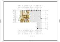 两套三室一厅户型平面图 PSD