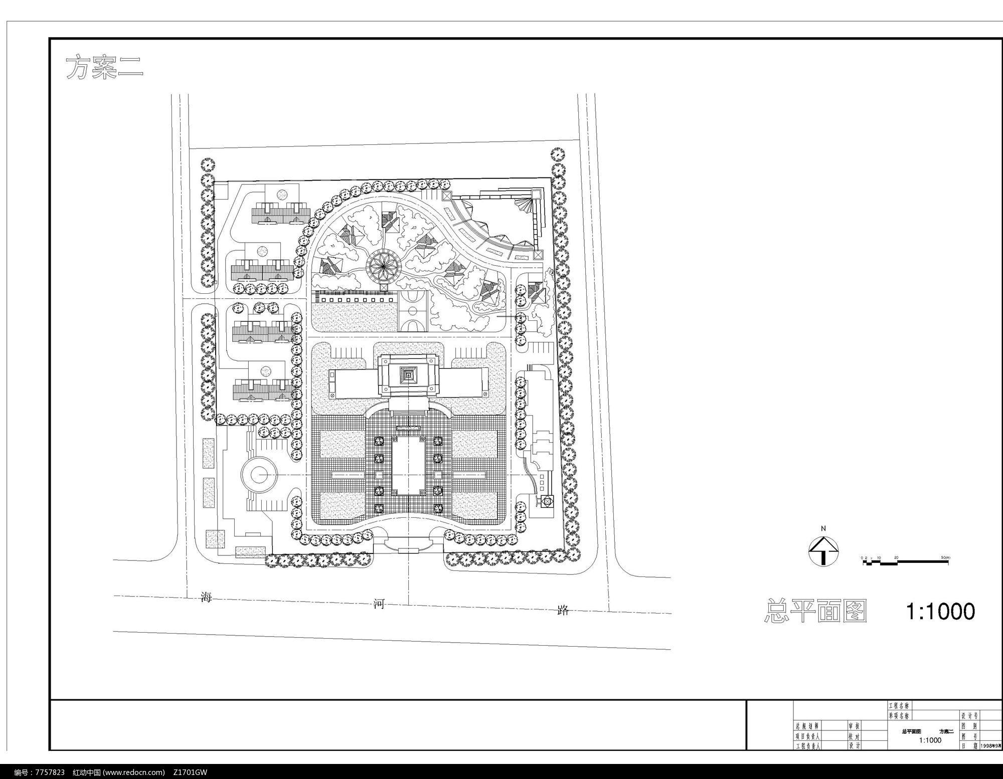 某住宅区景观规划图片