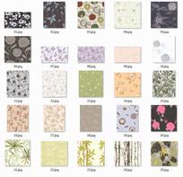 植物花卉图案贴图