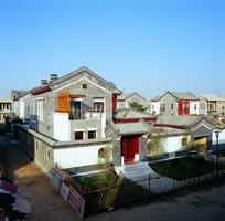 中式别墅区特色建筑景观