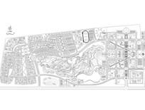 住宅区及湿地公园设计