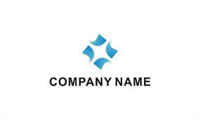 x字母科技logo设计