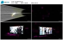 AE CS6黑色商务宣传视频模板