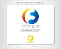 F字母网络科技电子商务LOGO AI