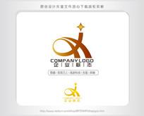 H大写A字母J科技IT吉星机械logo