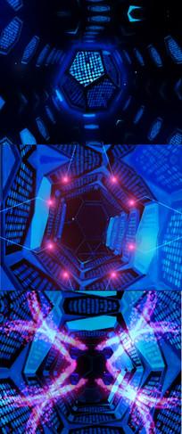 音乐舞台秀LED大屏背景
