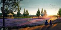 草花植物公园景观jpg