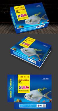 海鲜精装礼盒包装设计