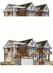 欧式现代建筑住宅