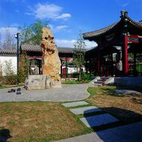 新中式构筑物景观意向图