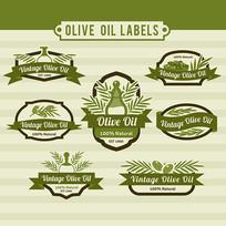橄榄油成分标签设计