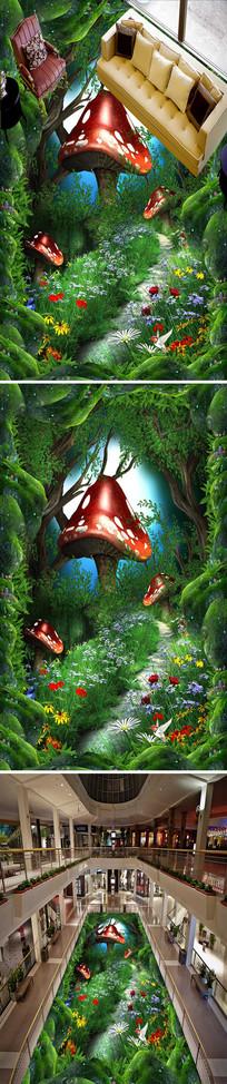 梦幻童话3D立体地画