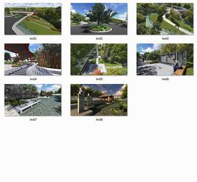 河北蓝猫酸枣科技示范园区景观设计