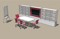 会议室商务办公空间