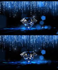 浪漫唯美钻石粒子婚礼背景
