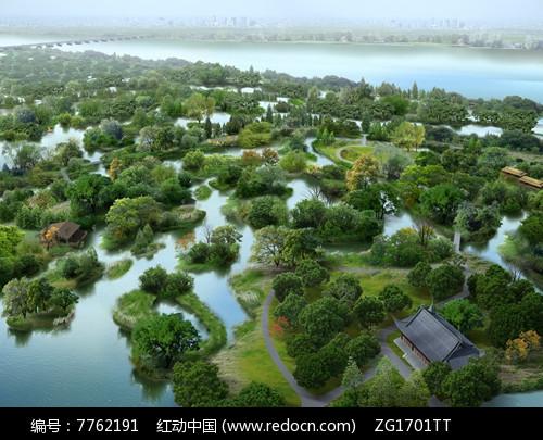 湿地公园景观jpg图片
