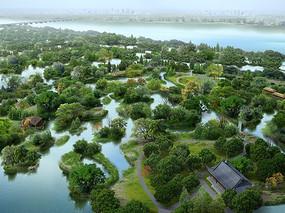 湿地公园景观jpg JPG