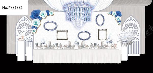 银灰色婚礼效果图图片