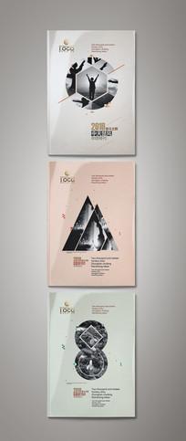 杂志封面模版设计