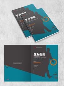 创意企业大气高端创意封面