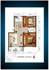 房地产户型图设计