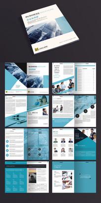 简约企业画册宣传册通用PSD模板