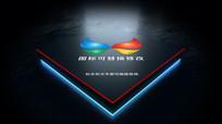 大气logo标志开场片头ae模板