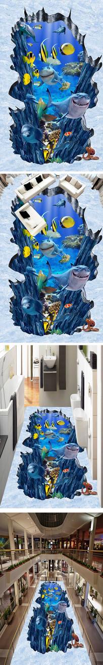 海底世界立体3D地画