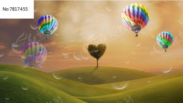 心形树热气球绿视频草地练翘臀视频图片