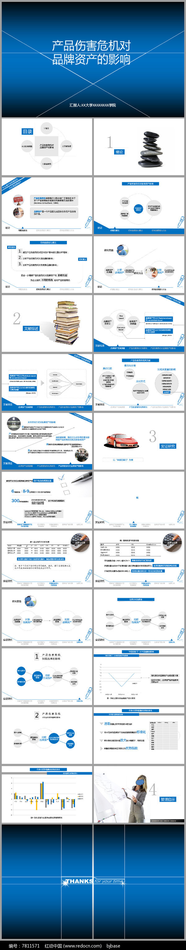 严谨淡雅型图表商业策划书创业计划PPT模板图片