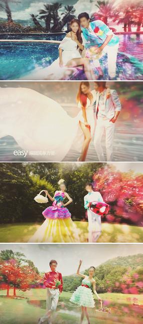 ae唯美婚礼情人节相册视频模板