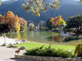 公园特色湖景