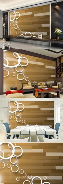 简约木条电视背景墙装饰壁纸图片 PSD
