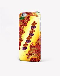 时尚龙纹手机壳图案设计