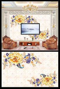 唯美电视背景墙设计