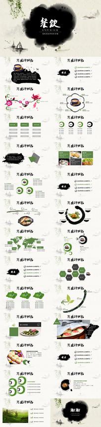 餐饮商业计划书营销策划PPT模板
