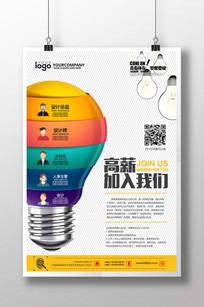 创意设计公司招聘海报