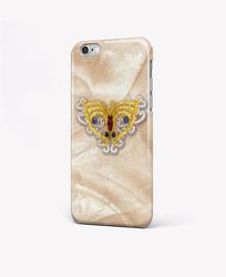 璀璨钻石蝴蝶手机壳图案 PSD