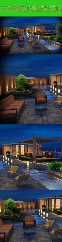 高清休闲室外场所设计方案