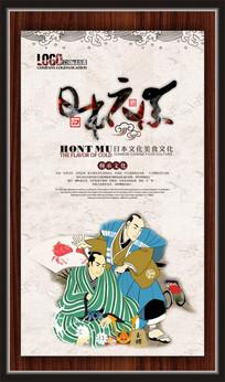 日本文化元素展板