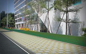 厦门禾山街道(绿色护栏)隔离护栏