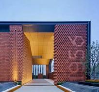 现代砖墙装饰