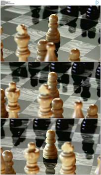 下棋对弈实拍视频素材