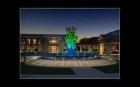 紫金山体育公园夜景